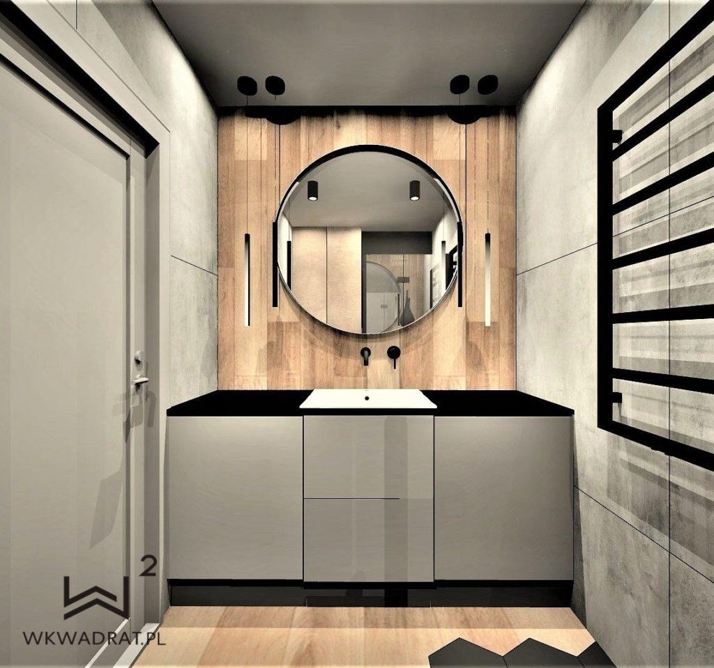 Projektowanie i aranżacja hoteli -apartament-kołobrzeg-łazienka-styl-skandywski-wkwadrat-pl