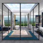 PROJEKTOWANIE i ARANŻACJA WNĘTRZ HOTELI -projekt-wnętrz-pokoju-hotelowego-aranzacja-apartementu-pracownia-wkwadrat-pl
